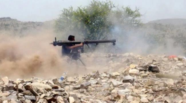 محاولات تقدم للمليشيات الحوثية غرب الضالع