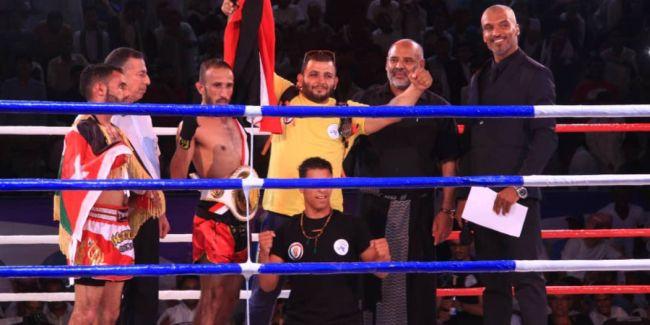 الملاكم اليمني حامد المطري يحقق بطولة غرب آسيا