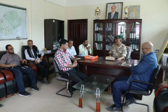 محافظ الضالع يشكر الوزير نايف البكري على اهتمامه برياضة المحافظة