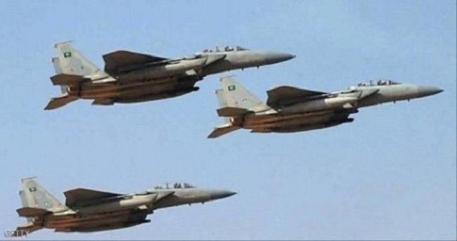 قوات التحالف تدمر كهوف لتخزين الصواريخ والطائرات الحـوثية في صنعاء