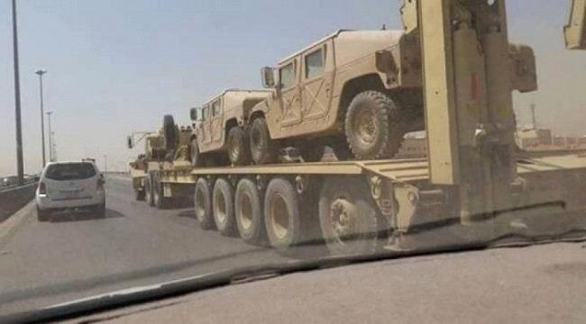 السعودية تدفع بتعزيزات عسكرية جديدة إلى عدن