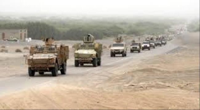الشرعية تدفع بتعزيزات عسكرية إلى محافظة أبين