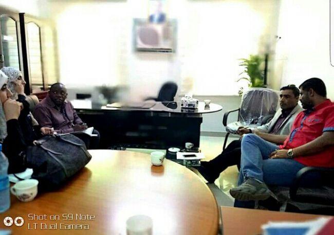 وكيل وزارة الصحة يشدد على استقلال قرار مكاتب المنظمات في العاصمة المؤقتة عدن
