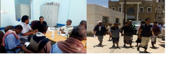 وكيل وزارة الصحة ينفذ زيارة تفقدية لمستشفى عزان العام بشبوه