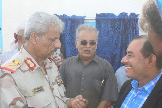 بتمويل من الجمعية الكويتية للإغاثة.. افتتاح مشروع تأهيل مياه منطقة الوهط في لحج