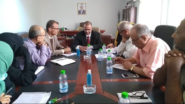 وزير الشؤون الإجتماعية والعمل يعقد مع المستشارين والوكلاء الإجتماع التمهيدي الأول لمجلس الوزارة
